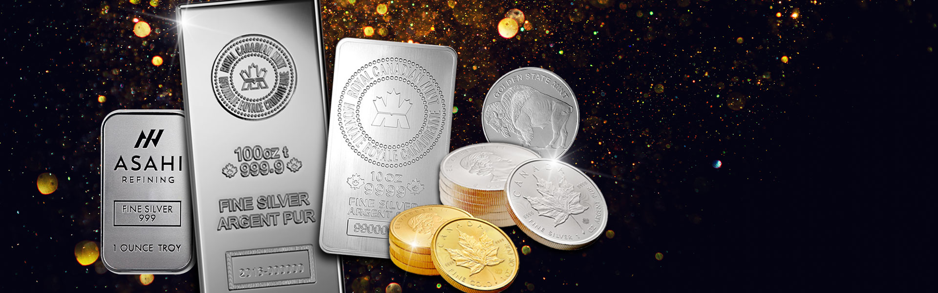 BULLION BARS & COINS