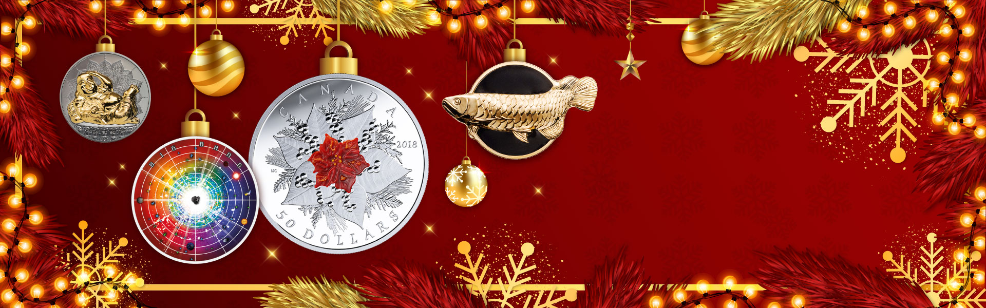 Up to 30% off on selected gift coins